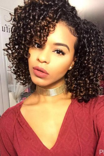 Natural Hairstyles for Medium Length Hair picture3