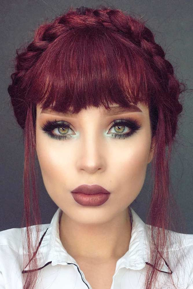Inspirational Hairstyles with Bangs picture3