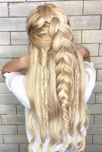 Half Up Half Down Braided Hairstyles picture1