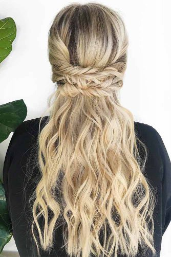 Half Up Half Down Braided Hairstyles picture2