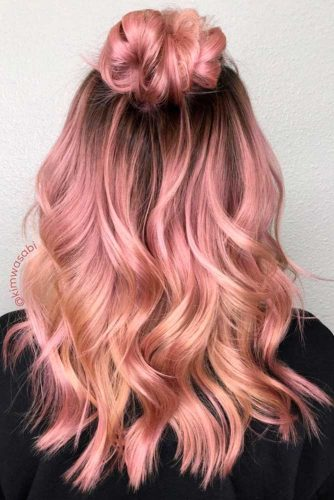 Rose Gold Hair Color to Try picture3
