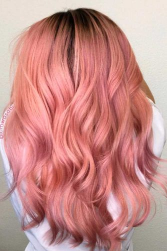 Beautiful Rose Gold Hair picture2
