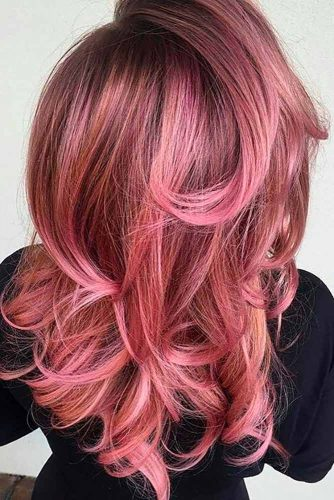 Rose Gold Hair Color to Try picture2