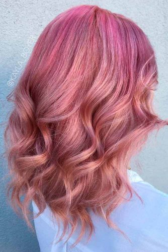 Beautiful Rose Gold Hair picture3