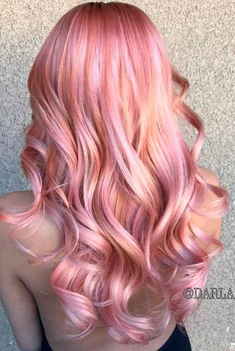 Beautiful Rose Gold Hair picture1