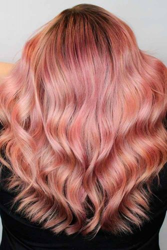 Amazing Rose Gold Hair picture1