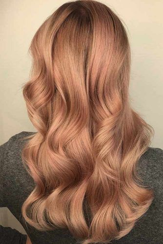 39 Rose Gold Hair Color Trends Lovehairstylescom