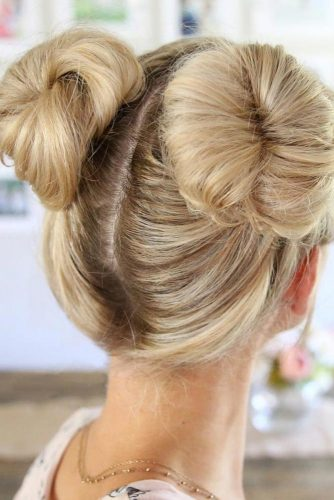 Double Bun Hairstyles picture 3