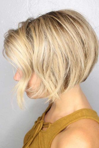 Blonde Stacked Bob Styles picture1