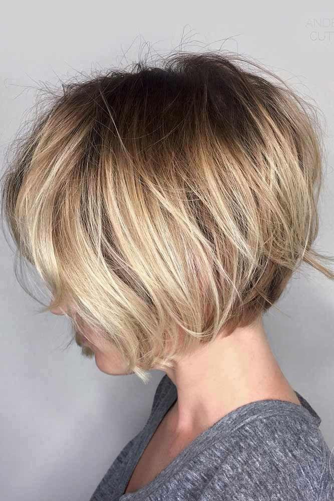 Straight Short Bob Hairstyles #bobhaircut #haircuts
