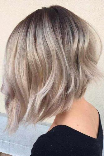 Silky Bob Hairstyle #bobhaircut #stackedbob #haircuts