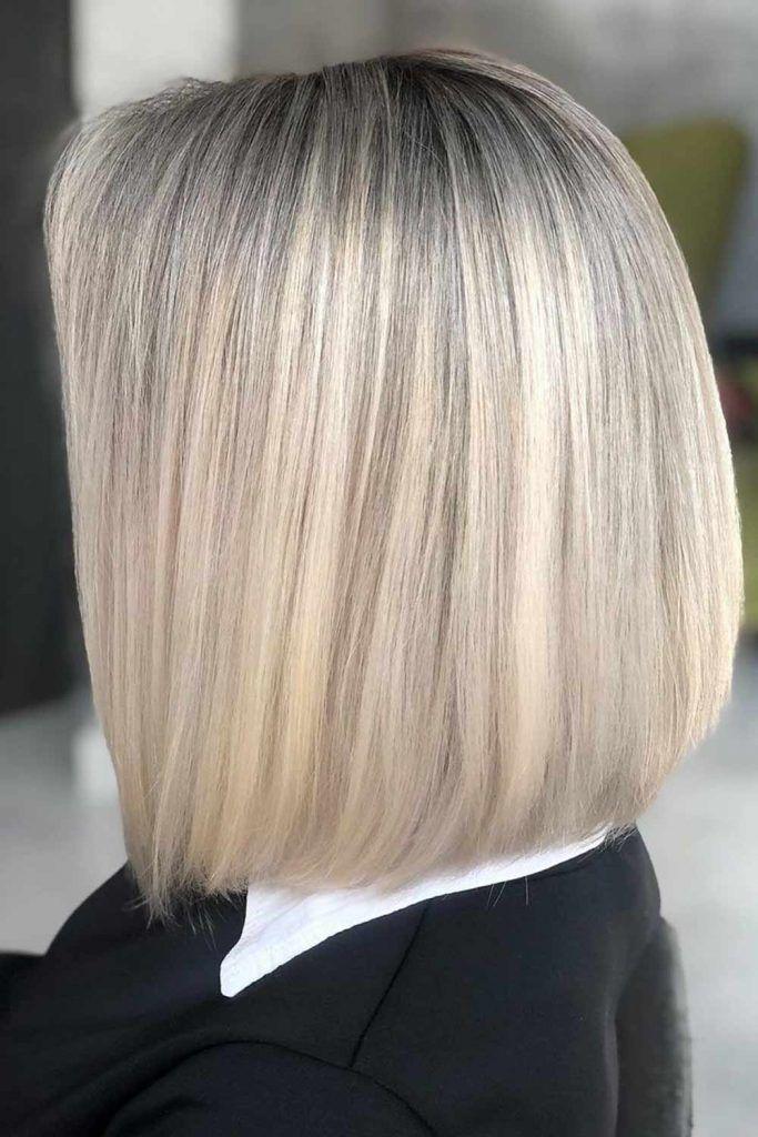 Blunt Bob Haircut Blonde #bob #bobhaircuts
