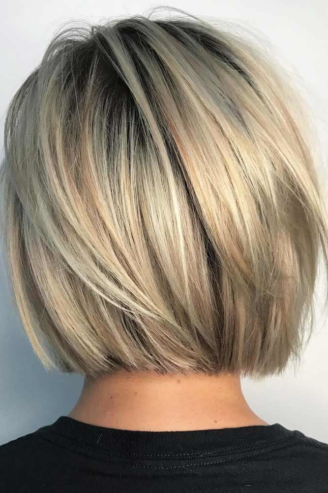 Short And Sassy Blunt Bob Haircut #bobhaircut #haircuts