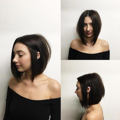 Edged Sleek Bob #bobhaircut #haircuts
