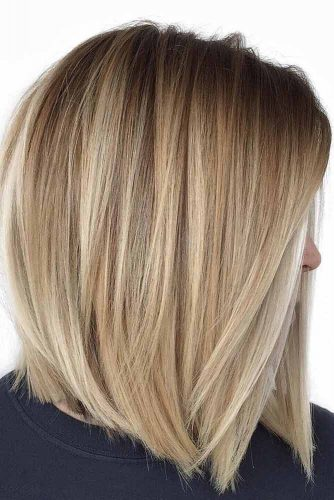 Pretty Stacked Bobs To Impress Straight Hair #bobhaircut #stackedbob #haircuts #mediumhair #straighthair