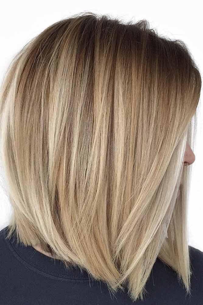 Pretty Stacked Bobs To Impress Straight Hair #bobhaircut #stackedbob #haircuts #mediumhair #straighthair