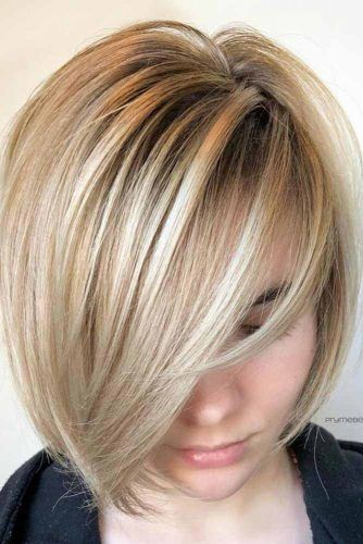 Sleek And Glossy Bob #bobhaircut #haircuts