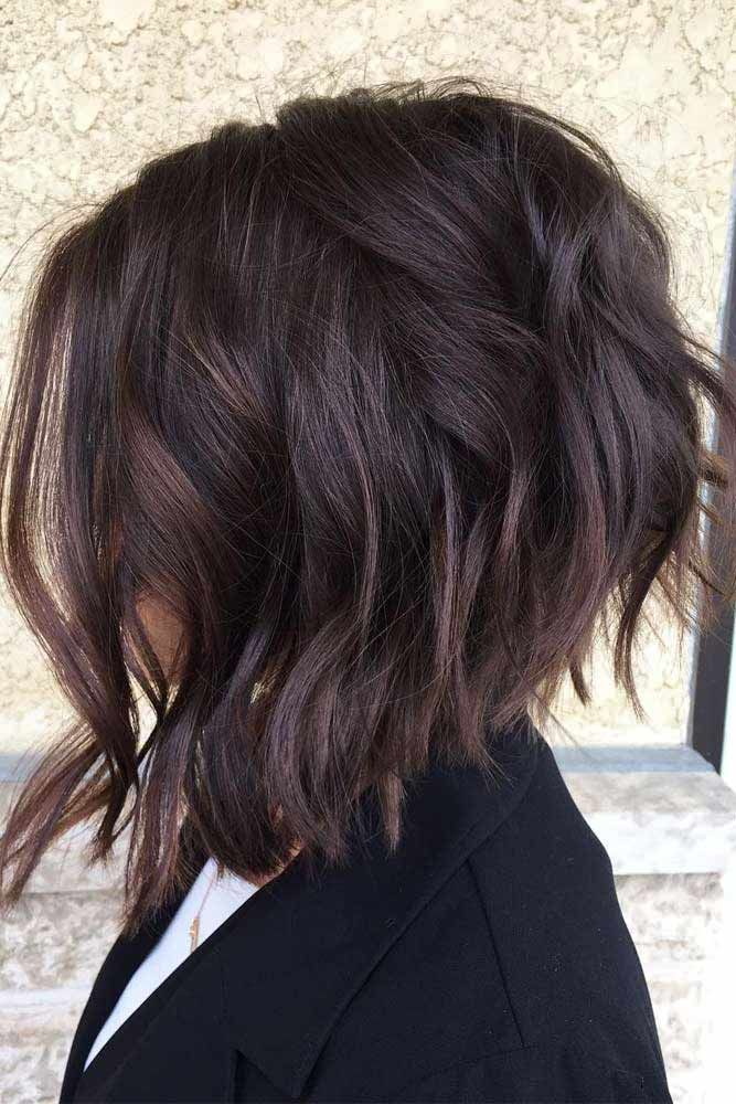 Soft Stacked Bob Haircut #bobhaircut #haircuts