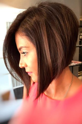 Funky A-Line Bob for New Stylish Look
