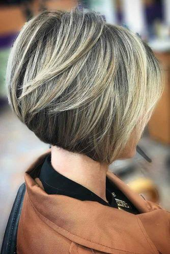 Short Graduated Bob  #bobhaircuts #haircuts