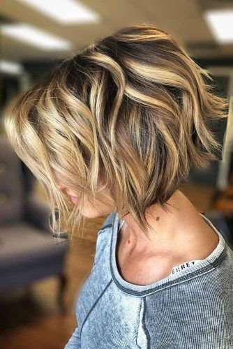 Layered Bob Haircut #bobhaircuts #haircuts
