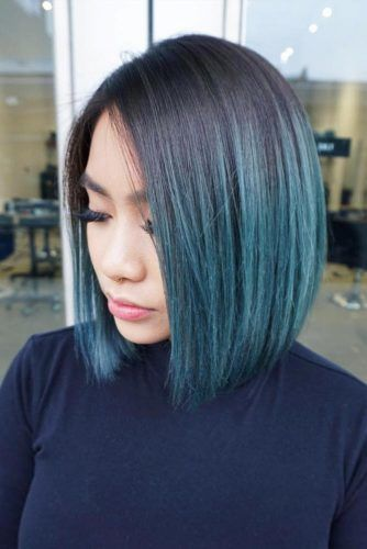 Ombre Hair Style #bobhaircuts #haircuts