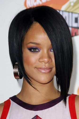 Inverted Sleek Bob  #bobhaircuts #haircuts #blackhair