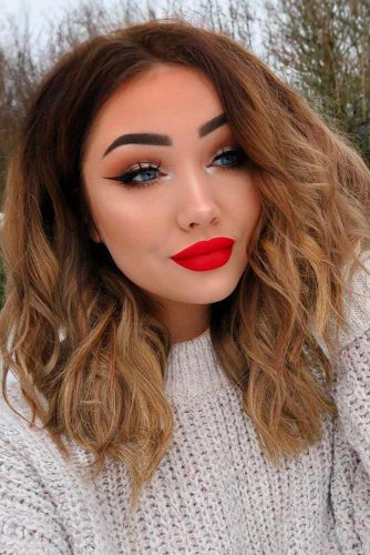 Wavy Lob Hairstyles for Your Inspiration picture1