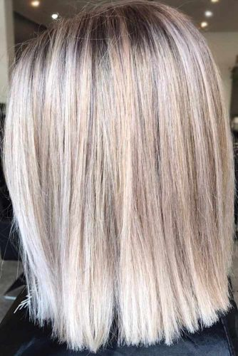 Straight Lob Hairstyles picture3