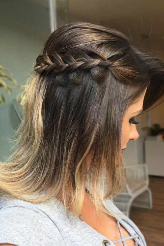 Braided Long Bob Hairstyles picture2