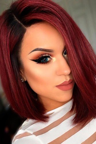 Short Red Hair Bob picture 1