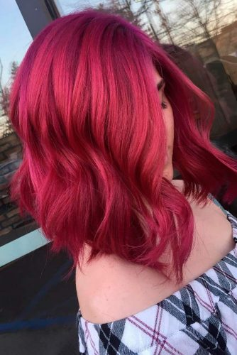 Bright Look with Short Red Hair picture 2