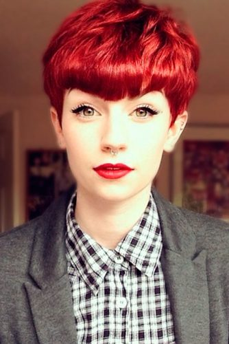 Sassy Short Red Hair picture 1