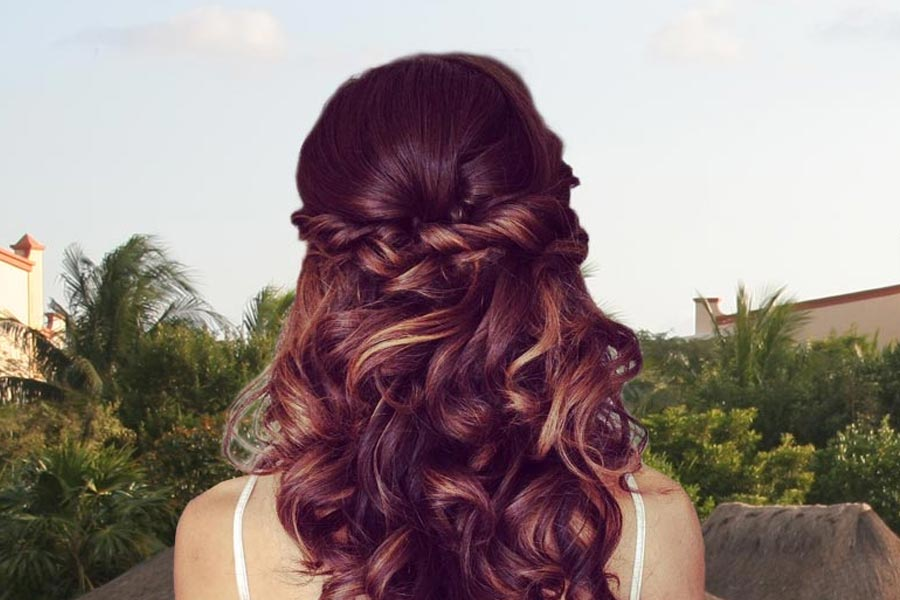 10 Minute Easy Hairstyles for Long Hair for Every Kind of Valentines Day Date