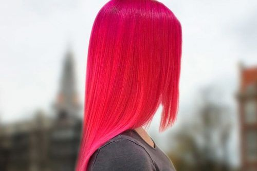 Amazing Magenta Hair Color Ideas for 2017