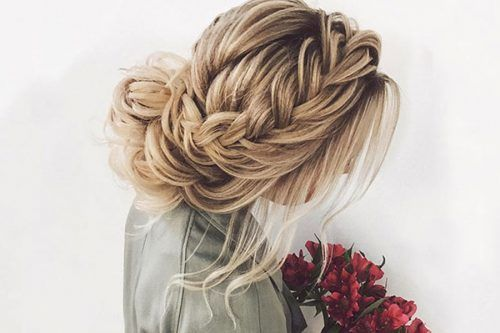 Romantic Braided Hairstyles For Valentine's Day
