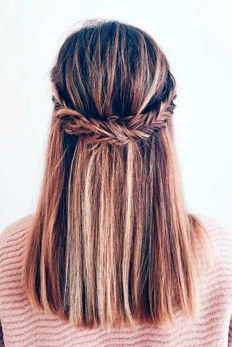 Stylish Half Up Braided Hairstyles picture