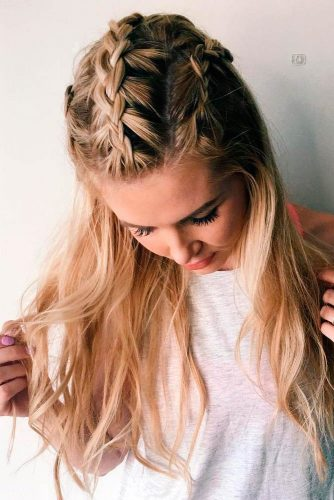 Elegant Braided Hairstyles picture 2