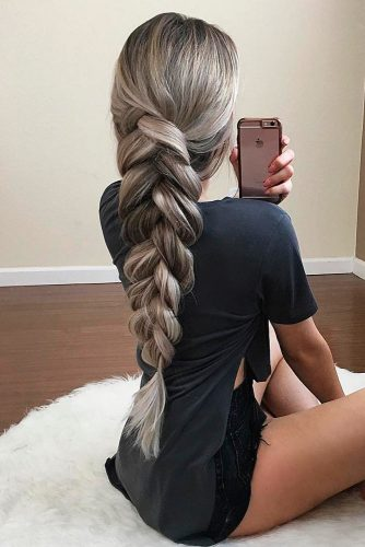 Trendy Braided Hairstyles for Long Hair picture 2