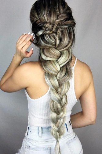 Gorgeous Hairstyles with Long Braids picture 1