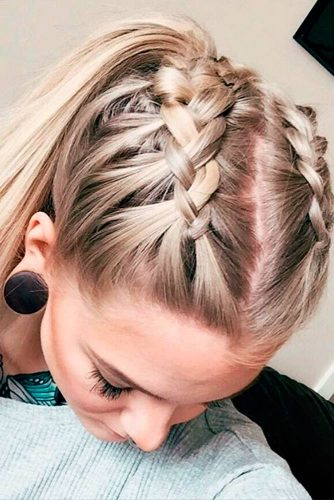 Stylish Half Up Braided Hairstyles picture 2