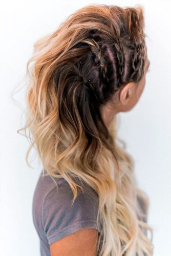 Stylish Half Up Braided Hairstyles picture 3
