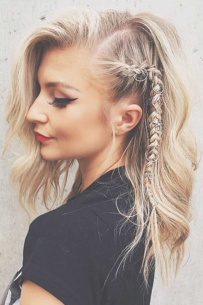 Fantastic Side Braid #mediumhair #mediumhairstyles