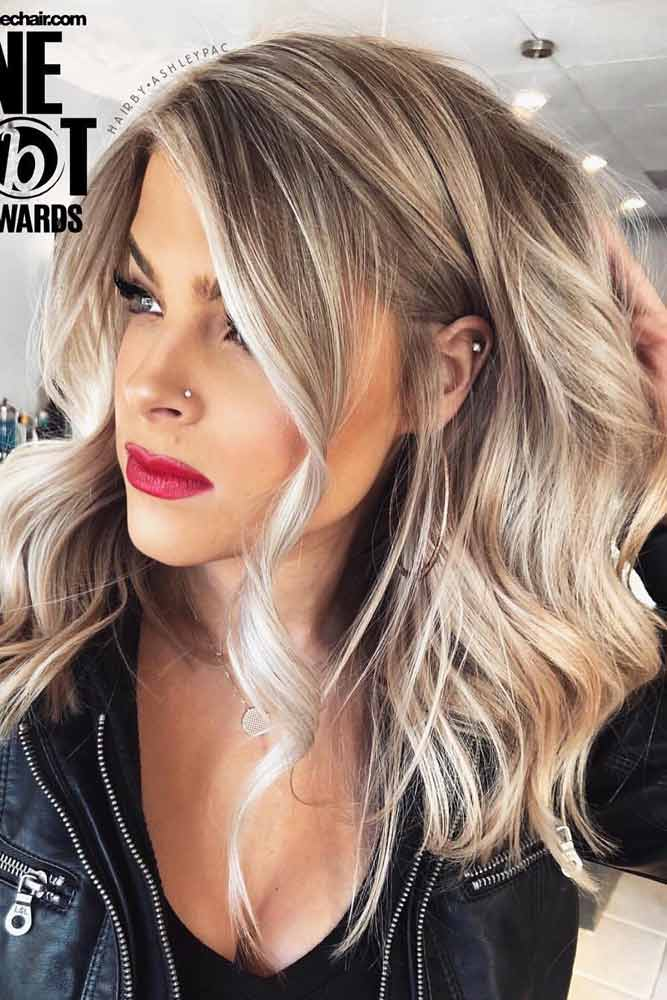 150 Medium Length Hairstyles Ideal For Thick Hair Lovehairstyles Com