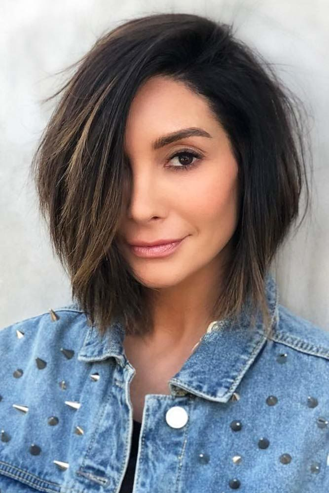 Short To Mid Length Hairstyles #mediumhair #mediumhairstyles