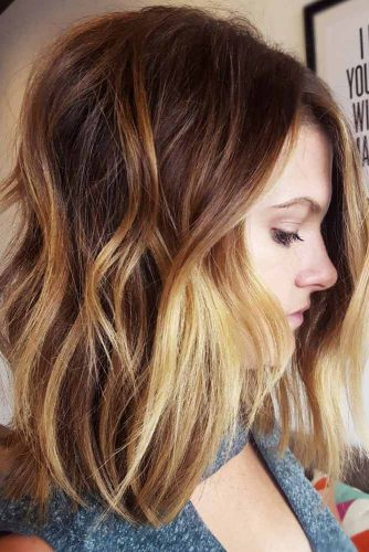 24 Medium Length Hairstyles Ideal For Thick Hair Lovehairstyles Com