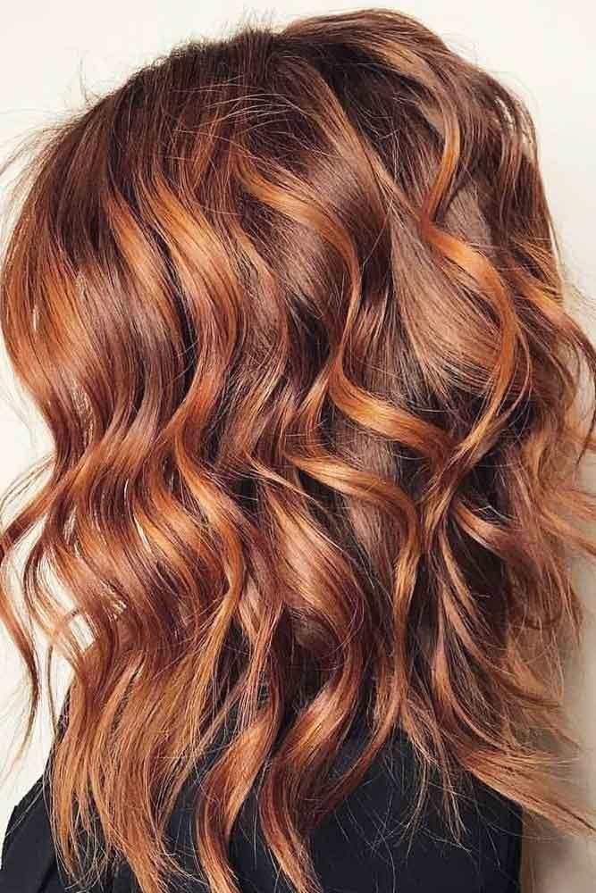 Haircut With Medium Length Layers #mediumlengthhairstyles #mediumhair #thickhair #longbob