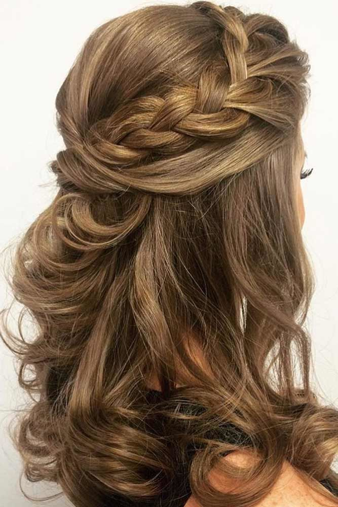 Big Braids For Medium Length Hair Brown #mediumhair #mediumhairstyles