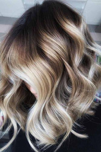 Carefree Curls #mediumlengthhairstyles #mediumhair #thickhair #longbob