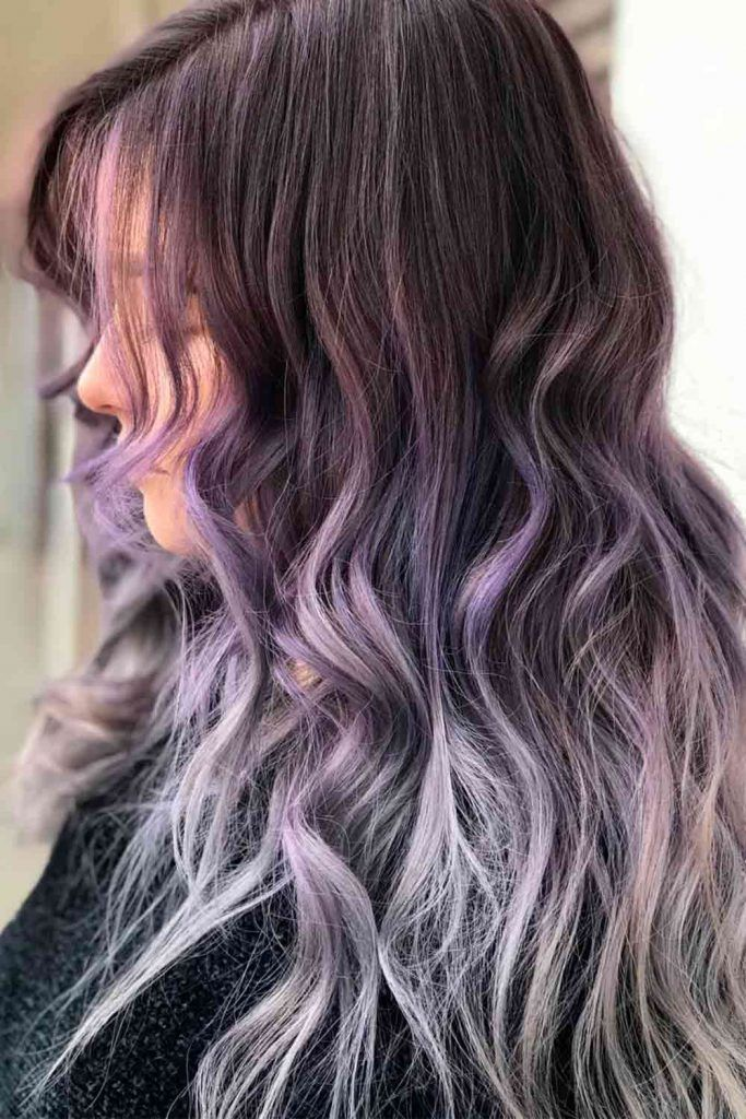 Fantastic Ash Ombre Hairstyles